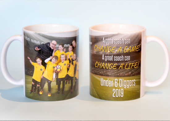 Coffee Mug Coach Gift